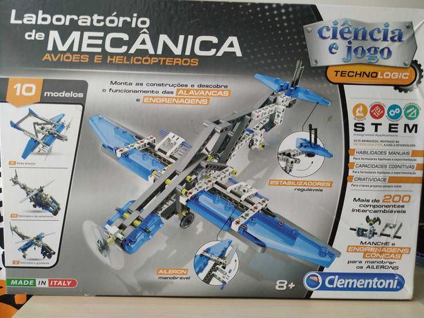 Laboratório de Mecânica. Construção de Helicópteros e Aviões + Oferta.