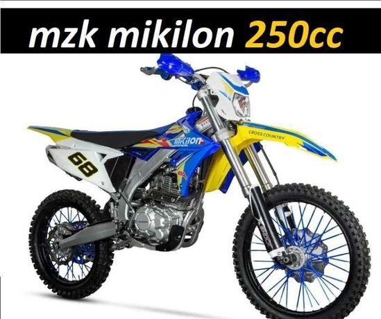 CROSS 250 MZK Mikilon  Super Moc 26 KM GRATISY Raty 0% Dowóz w 24H