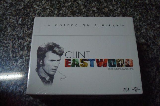 clint eastwood blu ray 7 filmes selados e outros blu ray