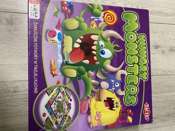 Gra Hungry Monsters Tactic