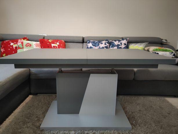 Ława stół 2w1 120x70 160x70 rozkładany regulowany narożnik sale