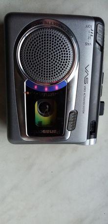 Oryginalny sprzęt Panasonic.Dyktafon