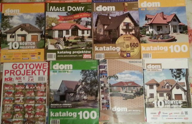 Katalogi  projekty domów