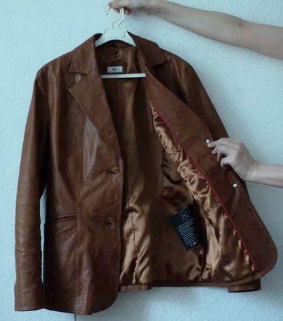 Куртка натур. кожа Bonprix, жакет, пиджак, пальто, плащ, кожанка