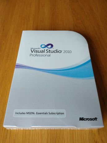 Microsoft Visual Studio 2010 Professional z MSDN Essentials BOX