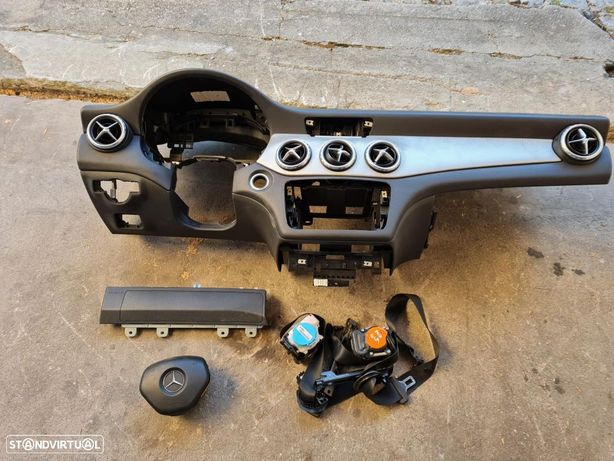 mercedes cla tablier / c117 / w117 / coupe / tablier / airbag / kit airbags