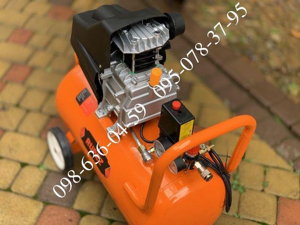 Новый воздушный компрессор Rupez CS 50л 2.52 кВ 252л/мин компресор