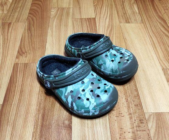 Детские шлепанцы, шлепки, тапки, сабо crocs (16 см)