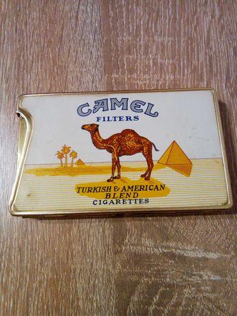 Зажигалка портсигар Camel