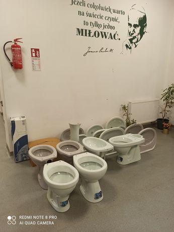 Wyprzedaż magazynu Cersanit umywalka misa miska wc
