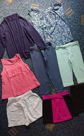 Очаровательные вещи 6лет: футболка Next, блузка H&M, лосины, шорті M&S