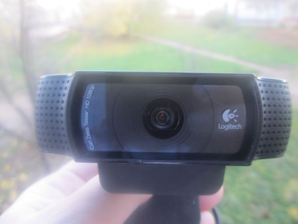 Вебкамера Logitech C920 - оптика Carl Zeiss