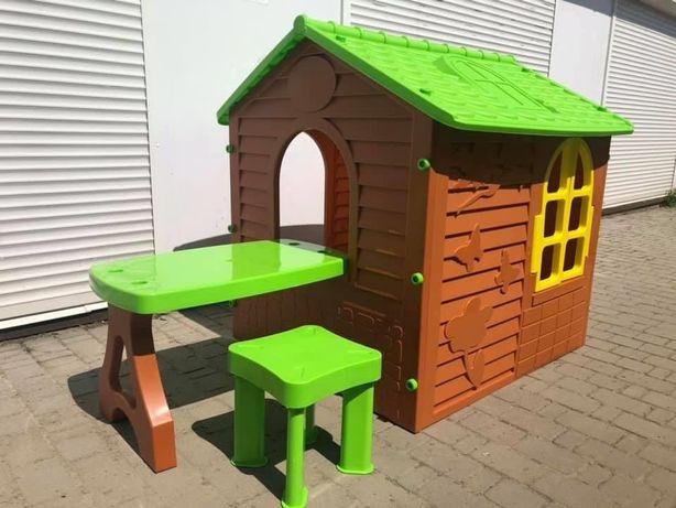 Большой детский домик+столик+стульчик/Набір доя діток Польща/Хатка