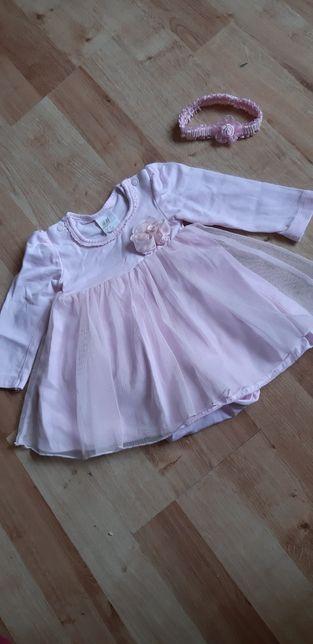 Sukienkobody sukienka tiul opaska h&m 68