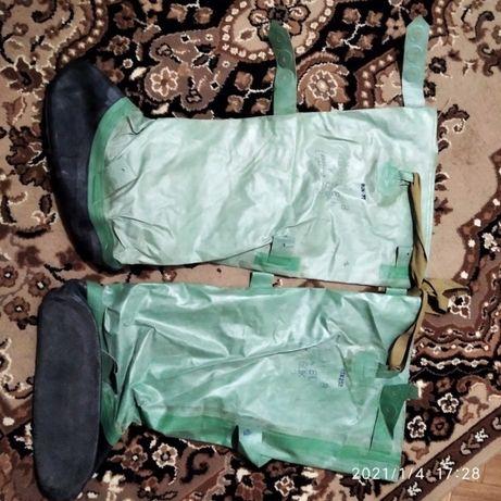 продам бахіли рибальські нові зелені