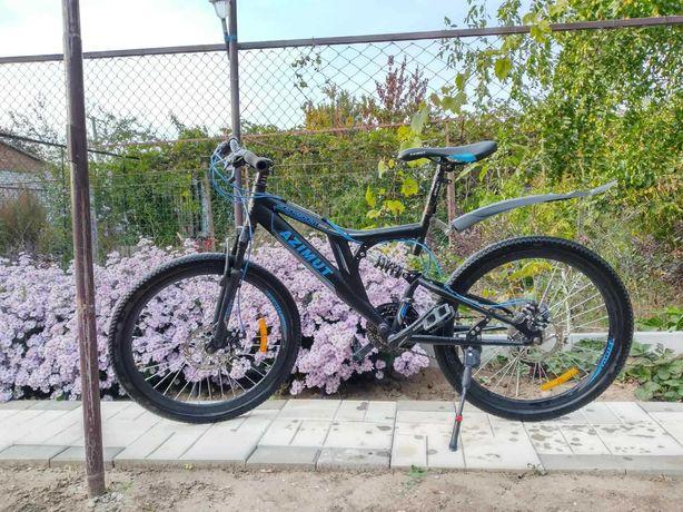 Горный подростковый велосипед Azimut Blackmount 24 D Рама 16