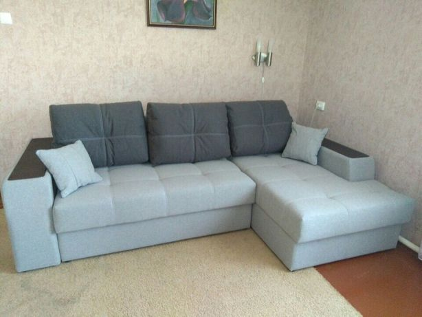 Перетяжка диванов, уголков, стульев