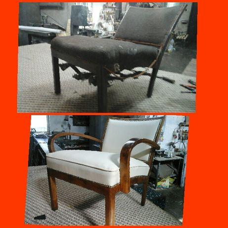 Перетяжка та ремонт меблів