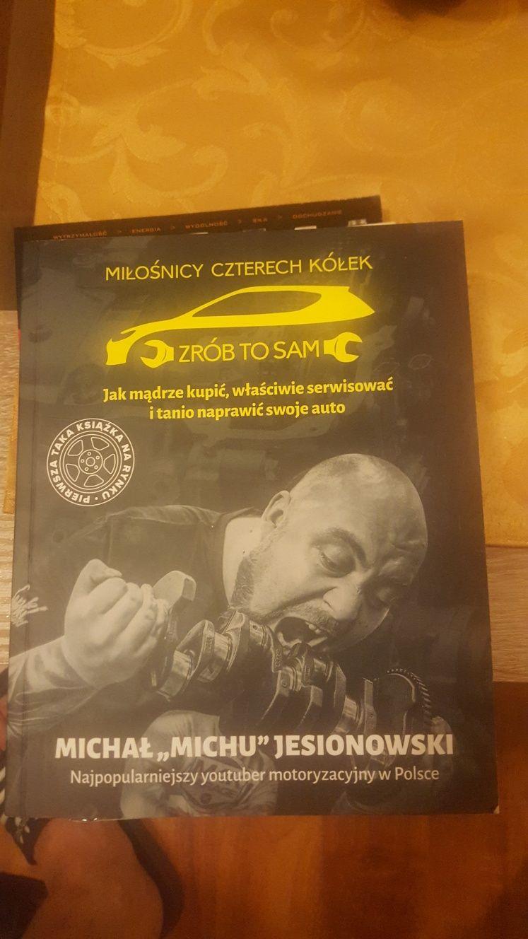 Książka M4K ZRÓB TO SAM  Michała Jesionowskiego