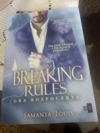 Breaking rules gra rozpoczęta Samanta Louis