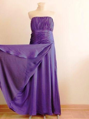 Długa Kobieca Suknia Balowa Wieczorowa Belsoie Roz. 42