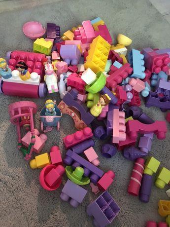 Klocki Mega Blocks dwa zestawy Disney