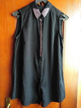 Bluzka damska tunika mgiełka rozmiar 38 40
