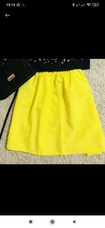 Продам жёлтую юбку