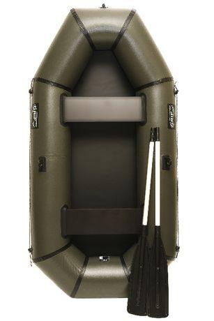 Надувная лодка Grif GL-240 из пвх двухместная для отдыха рыбалки охоты