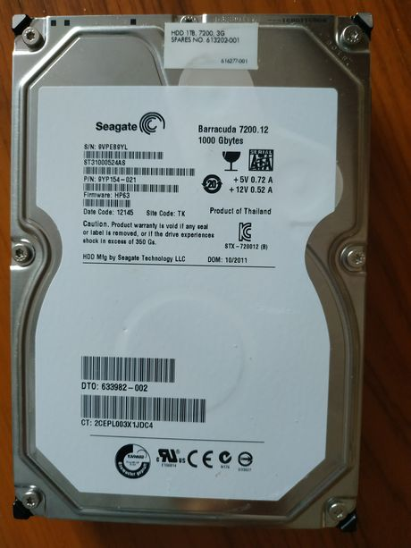 Жесткий диск 1 Тб HDD Seagate