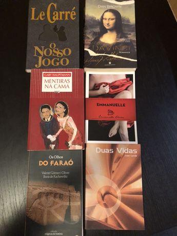 6 Livros de autores estrangeiros