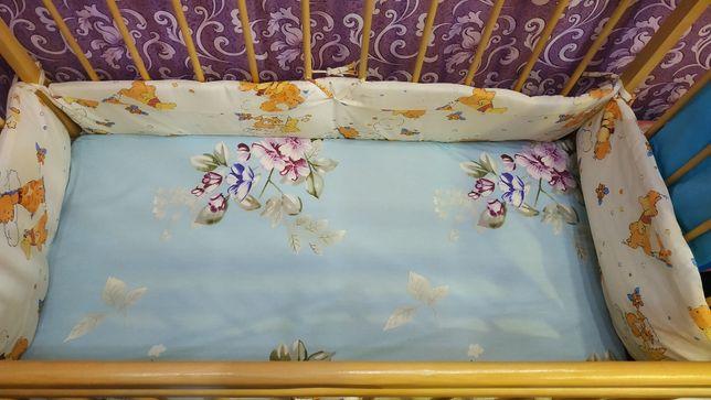 Продам детскую кровать (от 0 до 3-х лет)