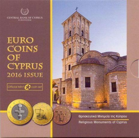 Кипр 2016. Официальный годовой набор монет