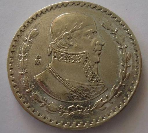México - Moeda Prata 1 Peso de 1963