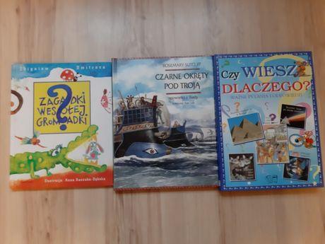 Książki z zagadkami i quizami, opowieści z Iliady