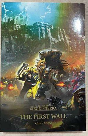 Warhammer - The first wall (Siege of Terra) Novo