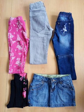 Spodnie, leginsy spódniczka rozm. 134-140