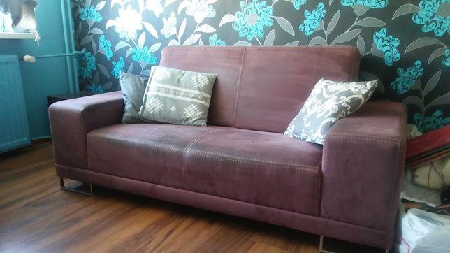 Kanapa sofa fioletowa