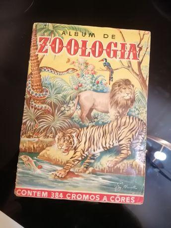 Caderneta zoologia vintage