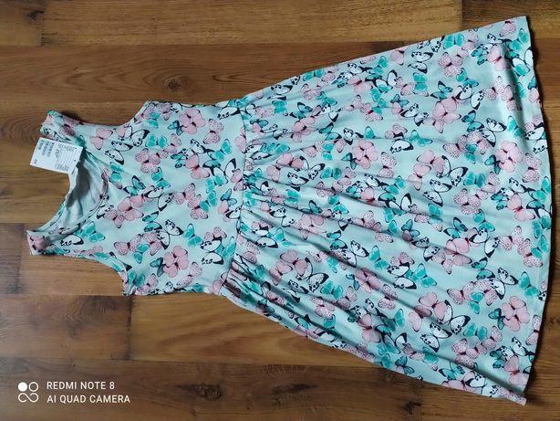 Letnia sukienka H&M, 8-10 lat, nowa