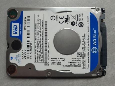 "Disco 2.5"" SATA III - WD Blue 320GB Slim - WD3200LPVX - TESTADO - 100%"