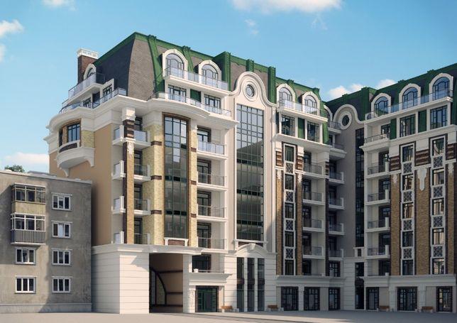 Центр! Квартира в новом доме на Еврейской вблизи парка Шевченко