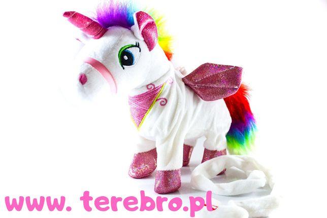 Nowa zabawka - Interaktywny chodzący jednorożec unicorn świeci!