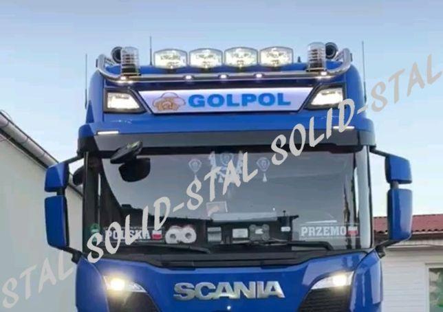 Orurowanie GÓRNE / RAMA DACHOWA Scania R / S / P / G