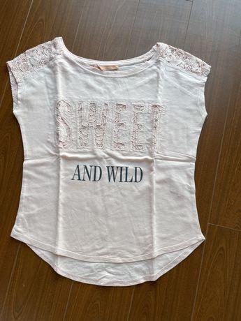 T-shirt rosa Bershka