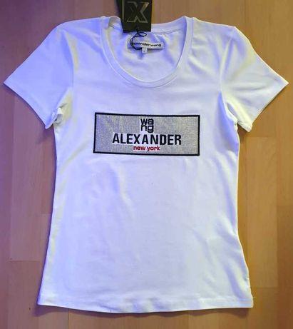 Aleksander Wang t-shirt bluzka roz L nowa z metką