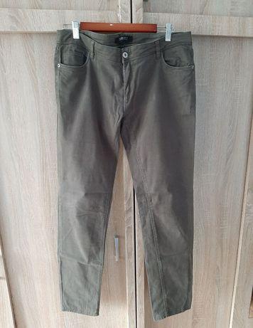 Spodnie damskie kolor khaki
