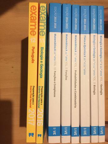 IAVE-Livros de exames para o 10º, 11º e 12º de escolaridade