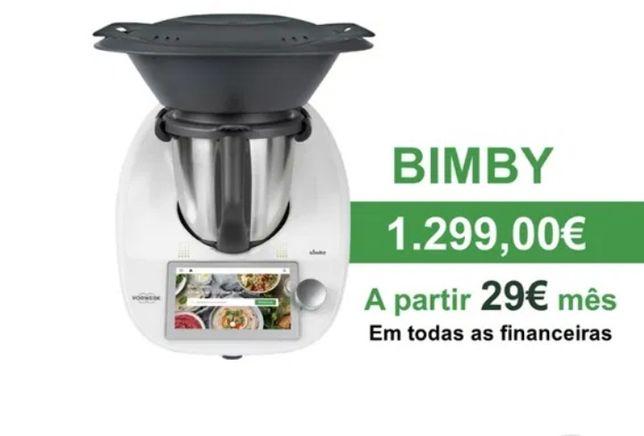 A Nova Bimby TM6 Super Promoção - 29€/ mês ( menos 1€/ dia)