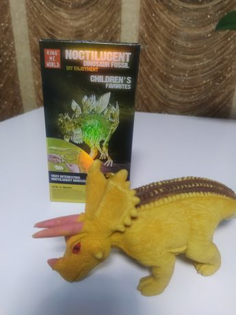 Динозавр 3Д, конструктор,антистрес